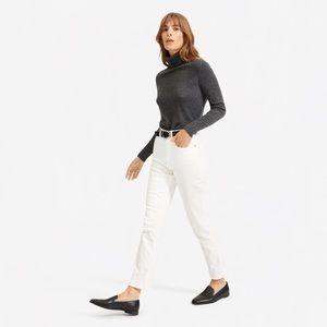 Everlane Cheeky Straight Jean, Size 25 Crop